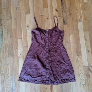 Anthropologie Chan Luu Button Down Dress